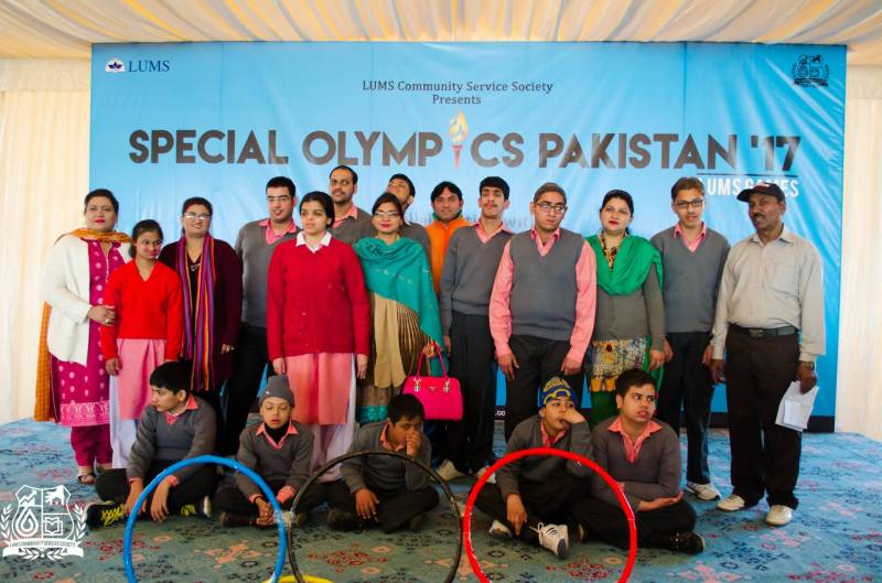 LUMS: Special Olympics organised for differently-abled children