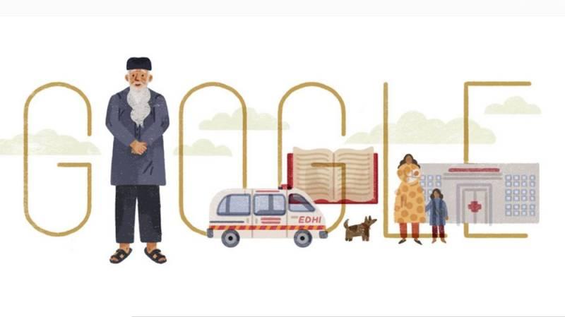 Google honours Pakistan's greatest humanitarian on his 89th birthday