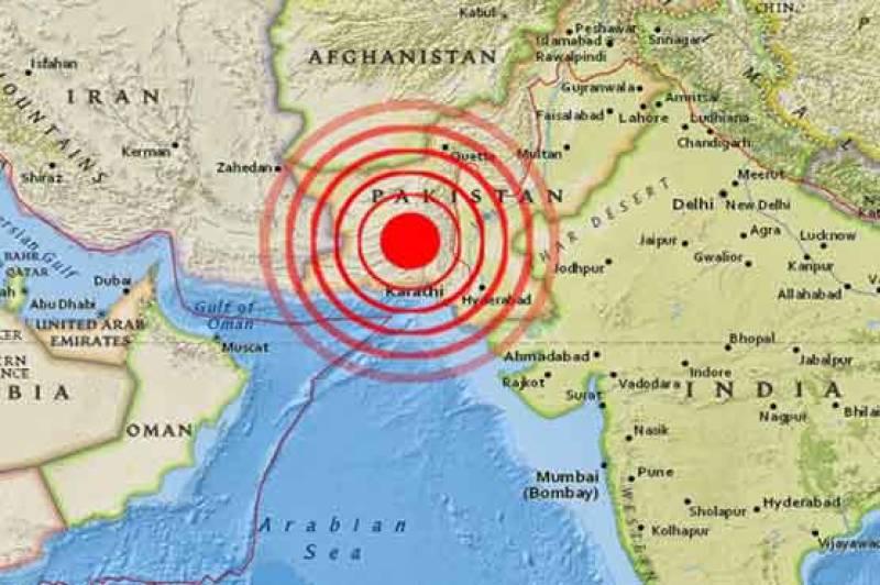 Powerful earthquake of 6.0 magnitude strikes Pakistan