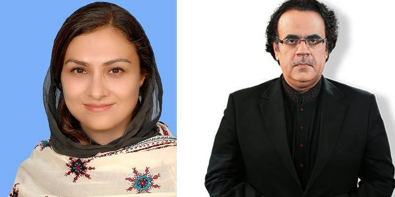 Marvi Memon refutes Dr Shahid Masood's claim about her withdrawal from PML-N