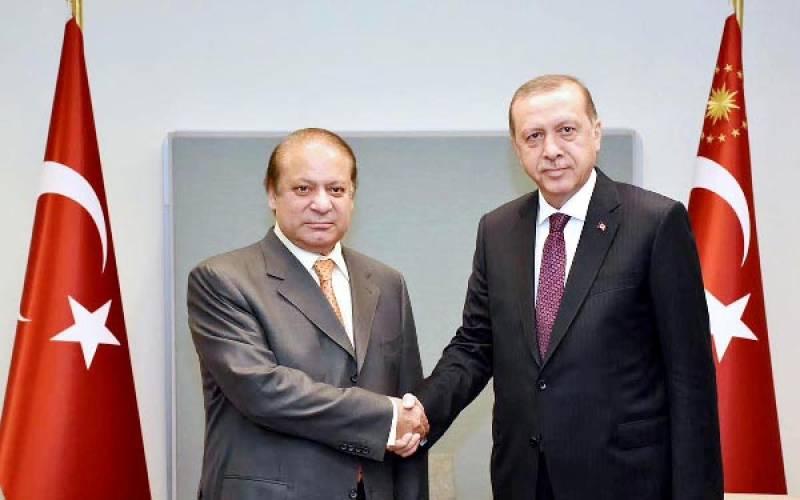 PM Nawaz, Erdogan reiterate resolve to eliminate terrorism