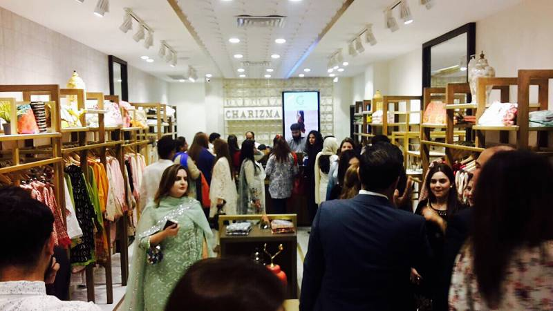 Charizma's High Quality Fabric takes Lahore by storm!