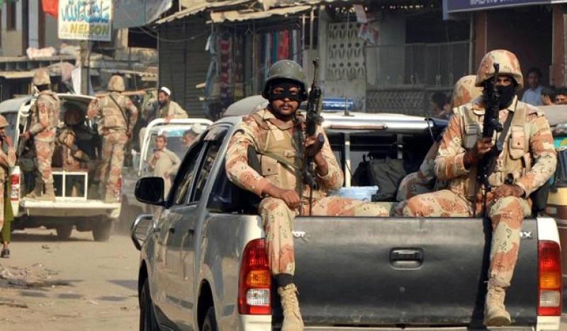 10 'terrorists' gunned down in Swabi