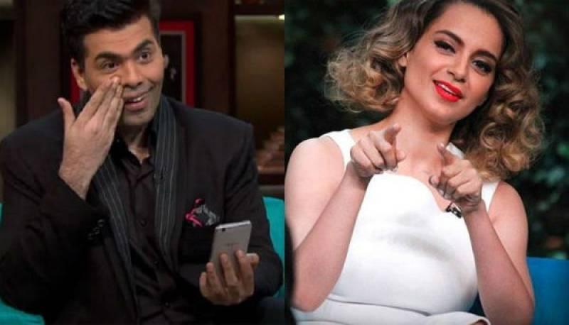 Karan Johar and Kangana Ranaut: The new tug of war