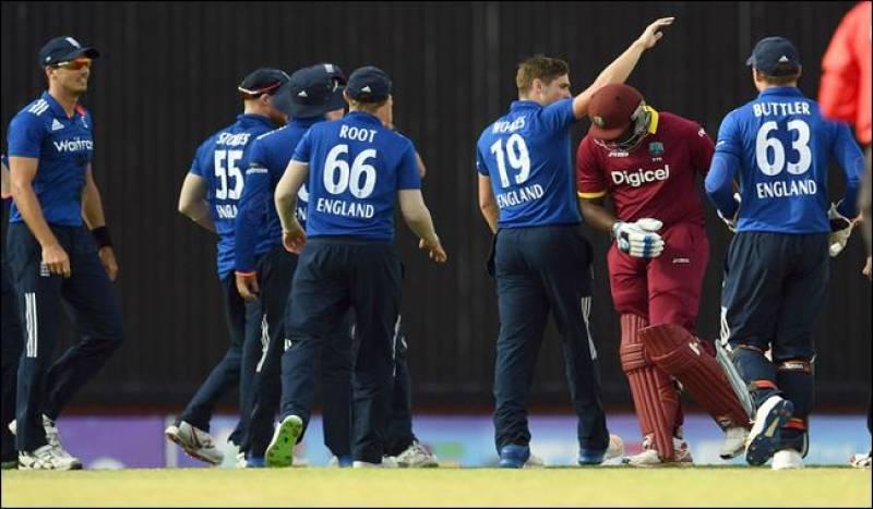 England beat Windies by 186 runs, sweep series