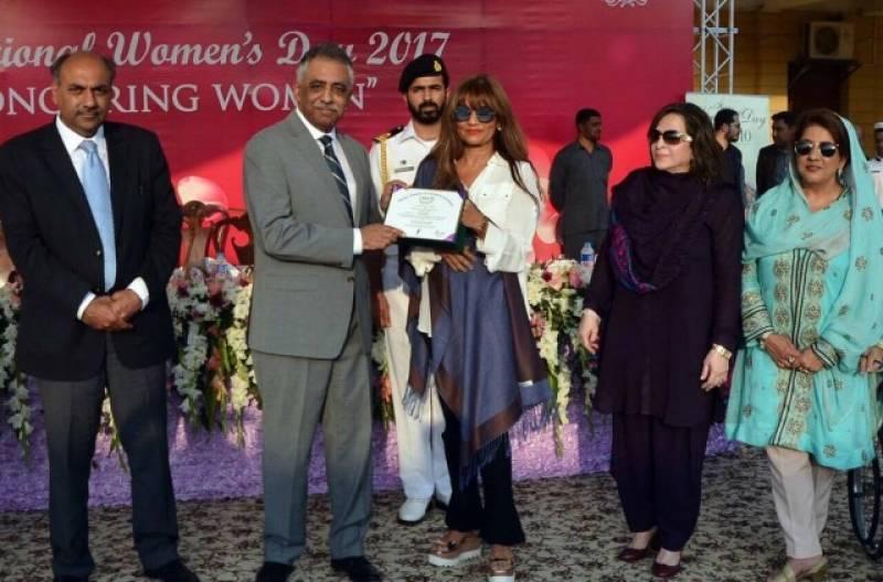 Frieha Altaf gets a lifetime achievement award