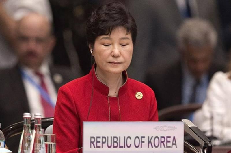 South-Korean court sacks president Park over document leak