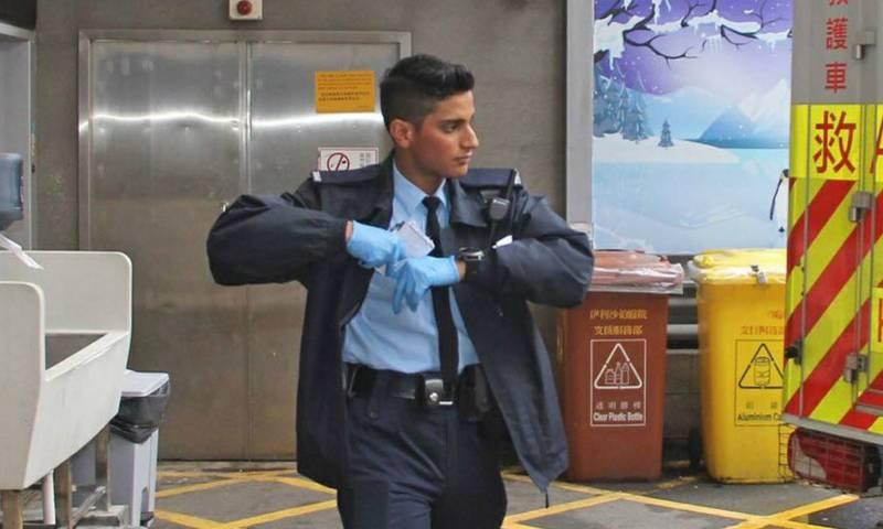 Pakistani origin policeman saves suicidal man's life in Hong Kong through Urdu