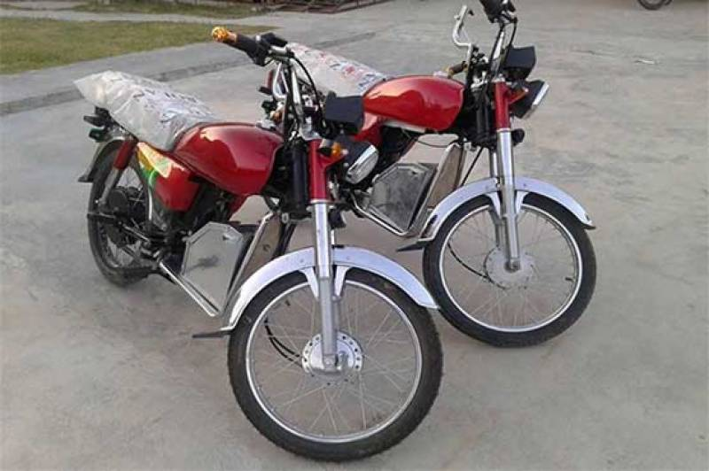 Fuel-free bikes ready to hit roads in Pakistan soon