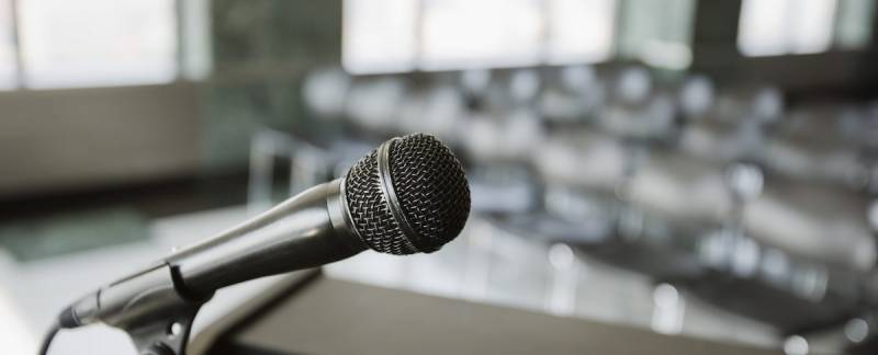 Public Speaking - How I found ways to be myself on stage.
