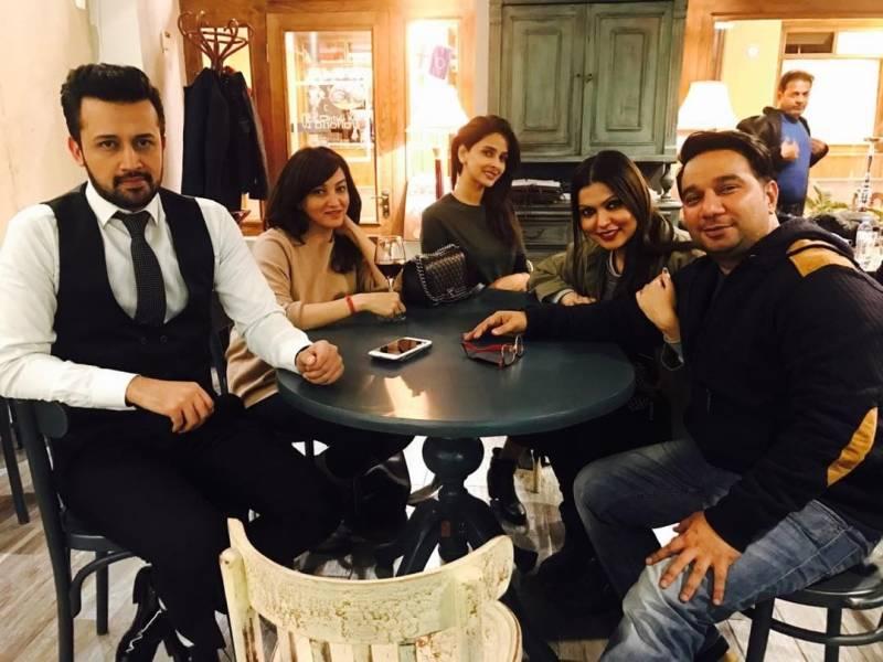 Atif Aslam sings for Saba Qamar starrer 'Hindi Medium'