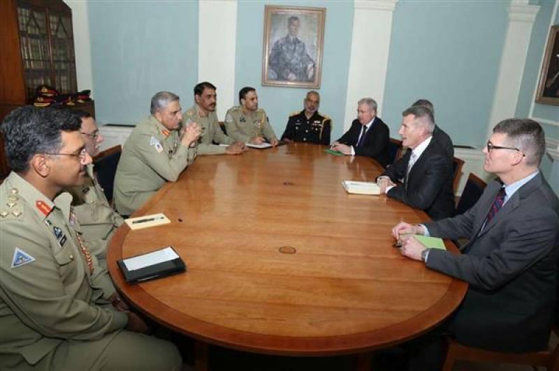 British leadership lauds Pakistan Army's role towards peace in region