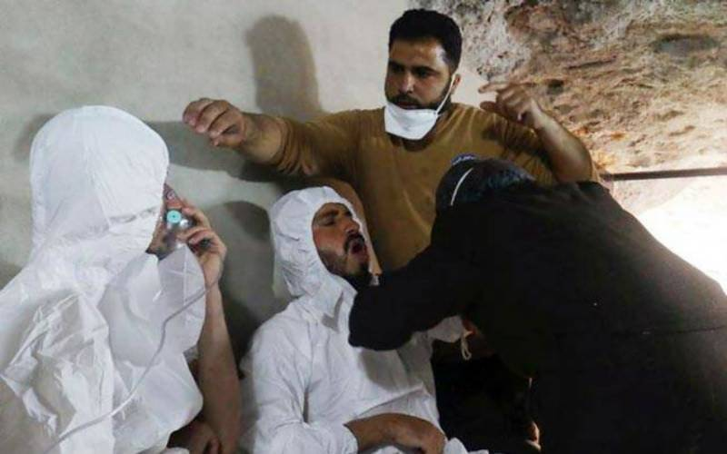 Children among 58 killed in Syria 'chemical gas' attack