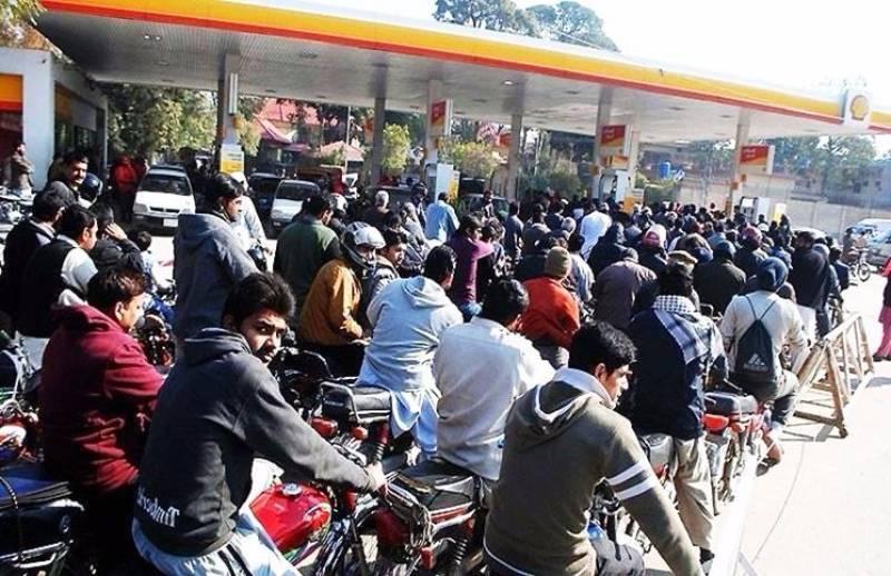 Severe fuel shortage plagues Karachiites as oil tankers observe strike