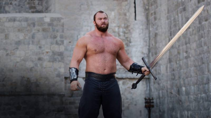 The Mountain from 'Game Of Thrones' is caught by facial paralysis