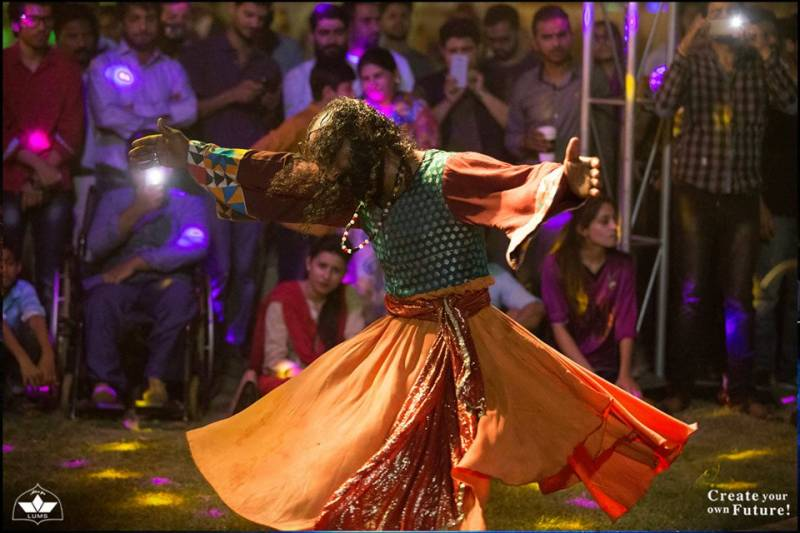 Celebration In The Air: LUMS host 7UP Spring Festival!