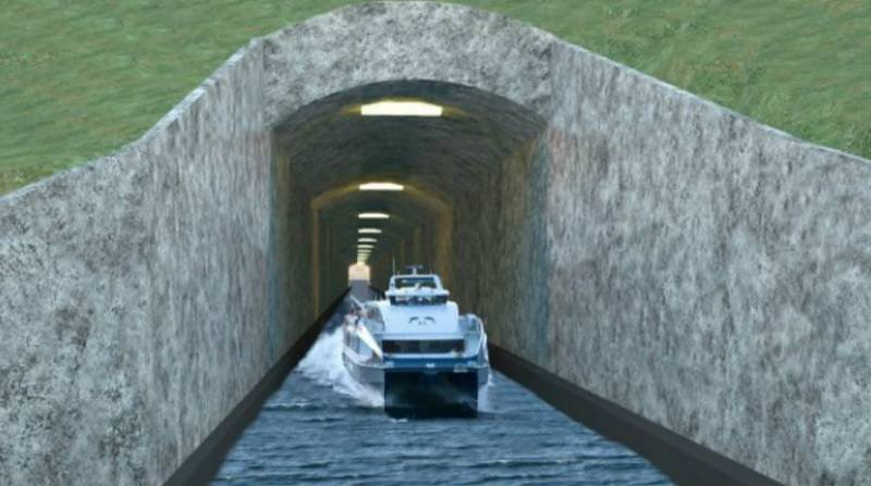 Norway to build world's first sea tunnel for ships