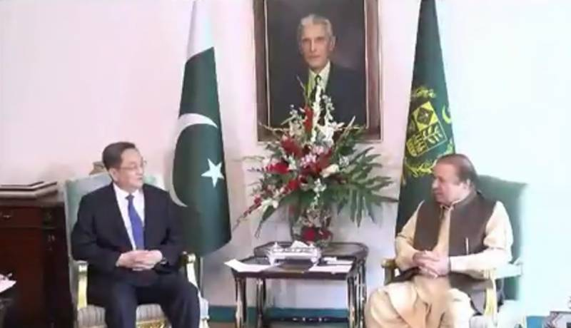 PM Nawaz lauds Chinese support to Pakistan in fight against terrorism