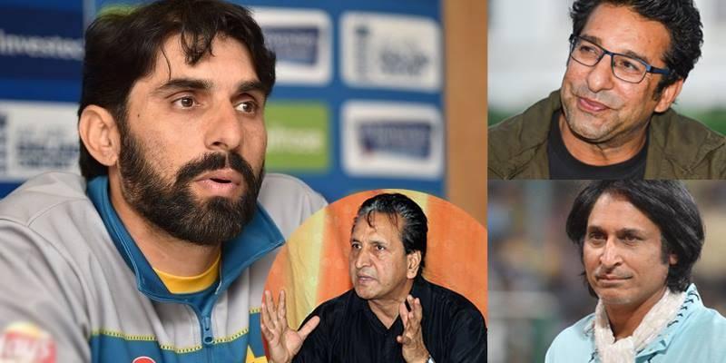 Qadir, Wasim, Ramiz Raja demand a proper send-off for Misbah
