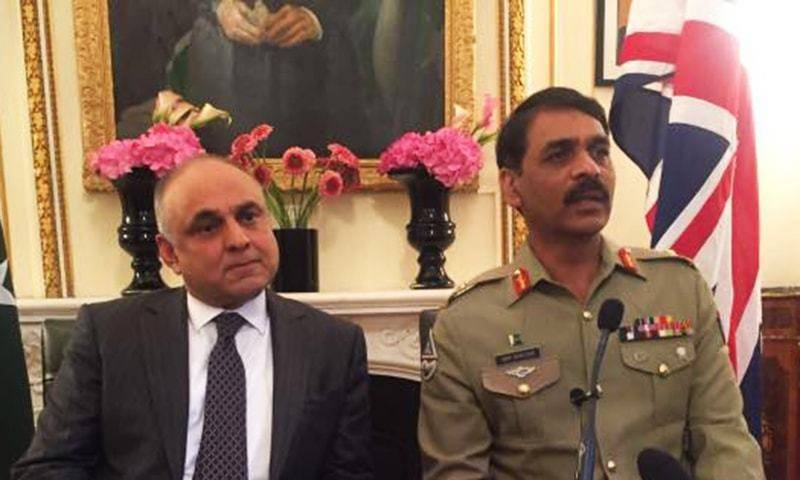 Raheel Sharif's appointment as head of military alliance a 'state decision': DG ISPR