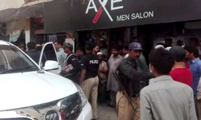 Three bodies recovered from men's salon in Karachi