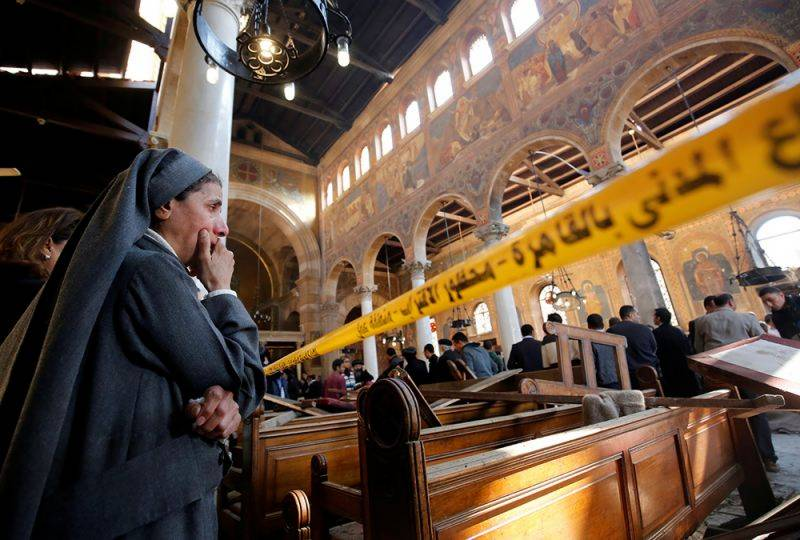 Egypt declares state of emergency after deadly church bombings