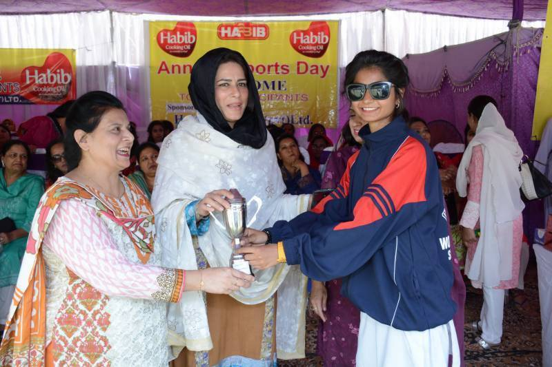 Govt Post Graduate College for Women Samanabad hold Annual Sports Day - 2017