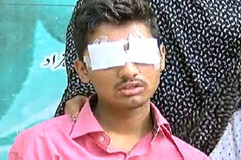 Teen castrated, blinded for 'illicit relation with girl' in Lahore