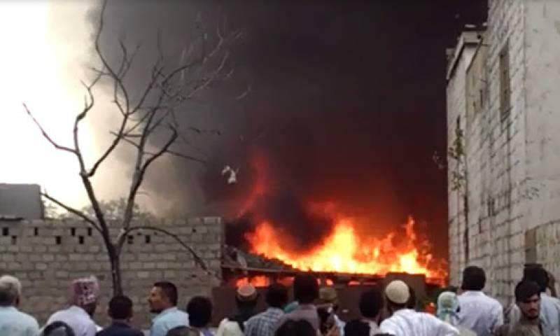 Several Rohingya Muslims shacks set ablaze mysteriously in Jammu