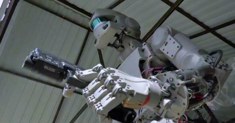 Russia is sending a 'Terminator' robot into Space