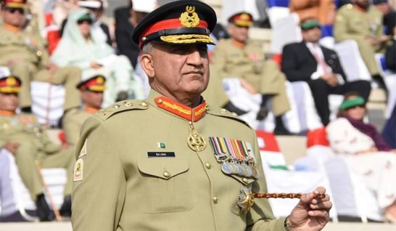 COAS Gen Qamar Bajwa confirms death sentence for 30 terrorists