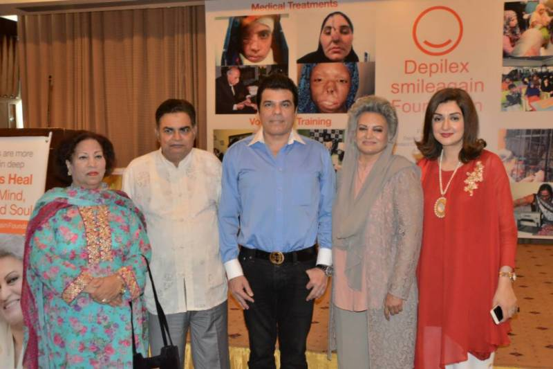 'Depilex Smileagain Foundation' encourages and supports burn victims