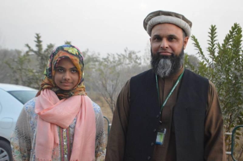 Oman envoy lauds Pakistani student Asia Arif