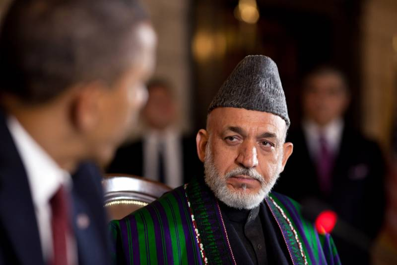 I see no difference between US and its 'tool' ISIS, says former Afghan president Hamid Karzai