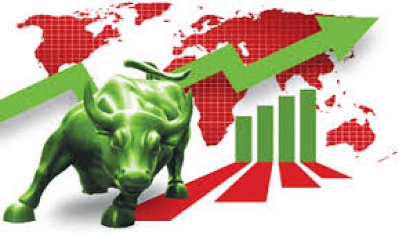 Bullish trend at KSE, index gains 1,100 points