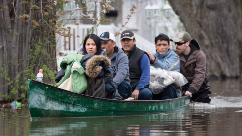Canada declares state of emergency as floodwaters rise