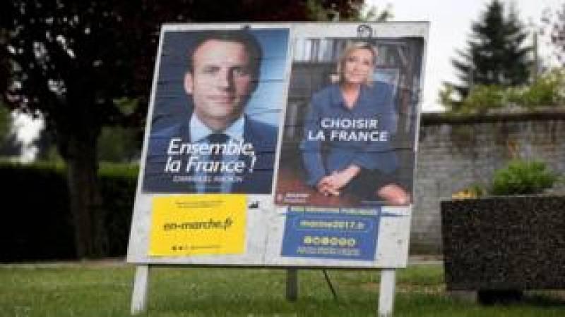 Emmanuel Macron beats Marine Le Pen with 65 per cent of vote - exit polls