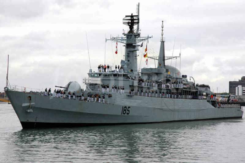 PNS Tipu Sultan arrives at Jeddah on goodwill visit