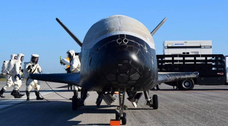 Record-breaking 718 days in space: Secretive US X-37B plane lands in Florida
