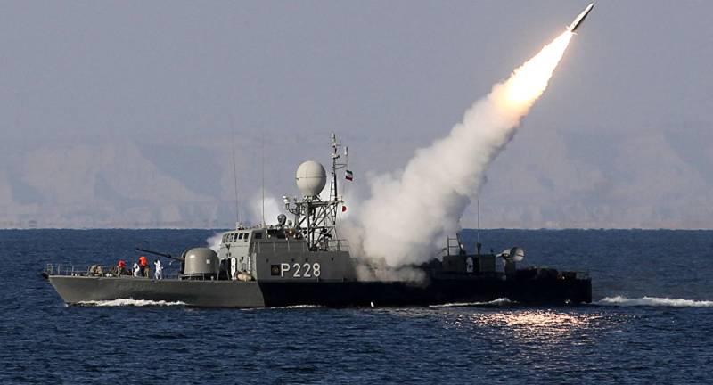 Iran test-fires torpedo near the Strait of Hormuz