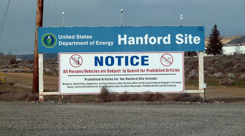 US Energy Department declares emergency at Hanford nuclear waste site after tunnel collapse
