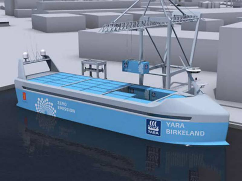 VIDEO: Norway to launch world's first self-sailing electric cargo ship next year