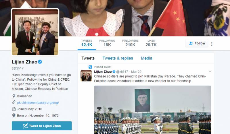 #AskLijianZhao: Chinese ambassador to Pakistan answers questions live on Twitter