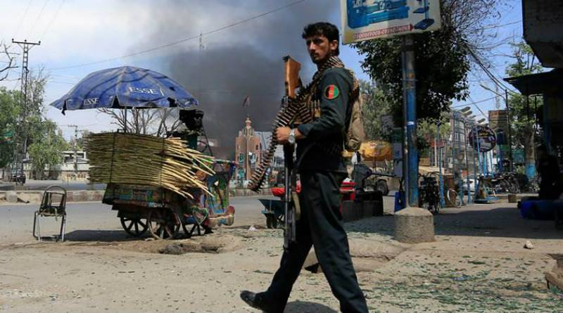 At least 18 Afghan soldiers killed in Taliban attack on Kandahar base