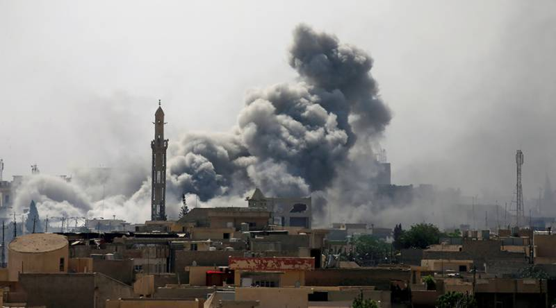 Civilian death toll rises to 484 from US-led coalition strikes in Iraq & Syria