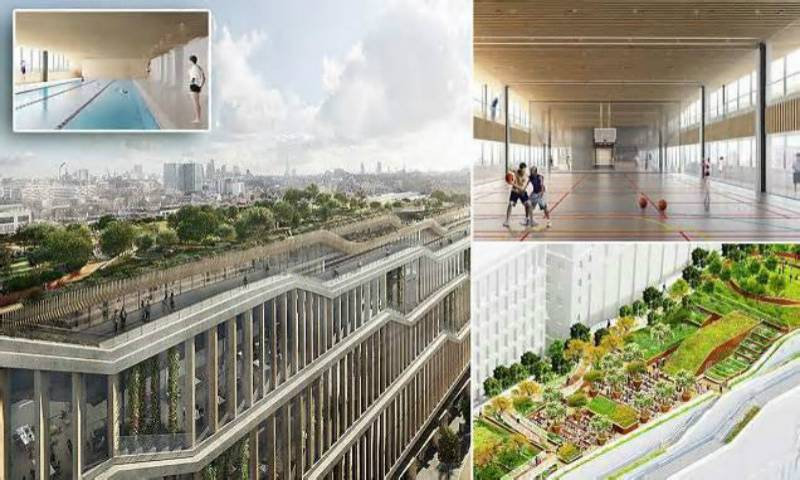 Google plans for new 1 million sq ft London headquarters - with a rooftop garden