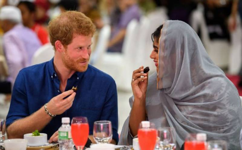 Prince Harry breaks fast with Muslim community as victims of London terror attack remembered