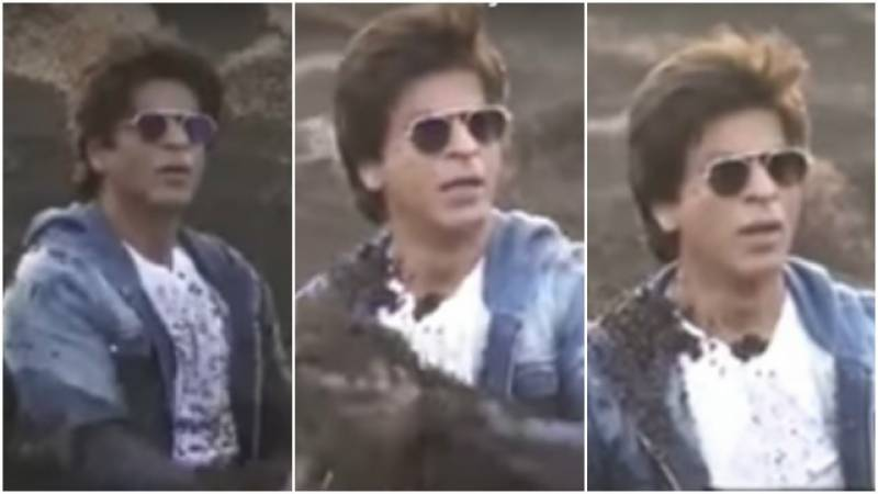 An angry Shah Rukh Khan TROLLED in this major prank by anchor!