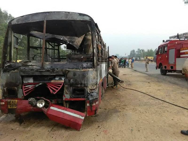 At least 22 killed in India bus crash