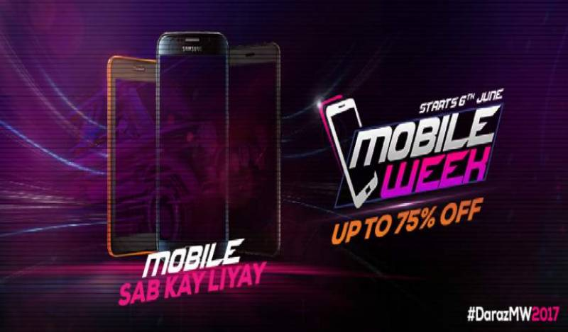 Daraz Mobile Week offers up to 75% off on leading phone brands